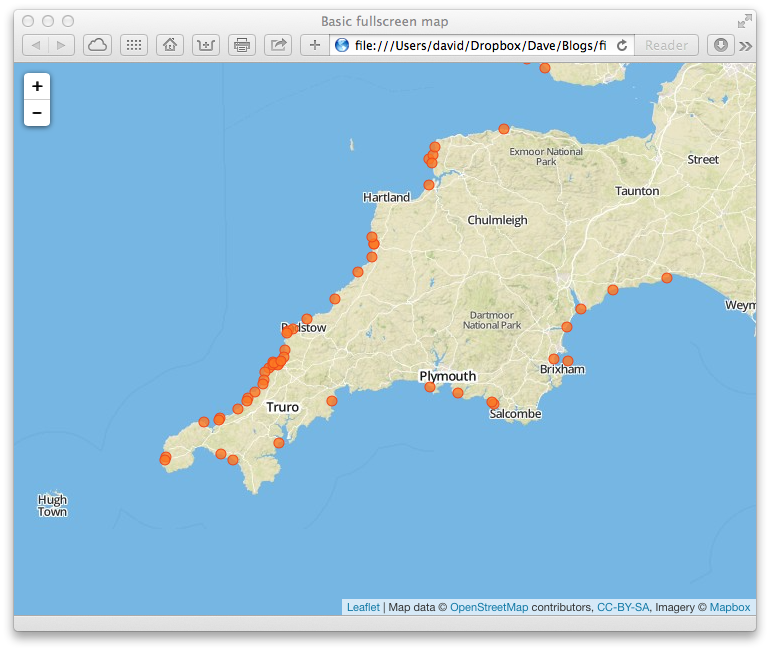 Building a webmapping system